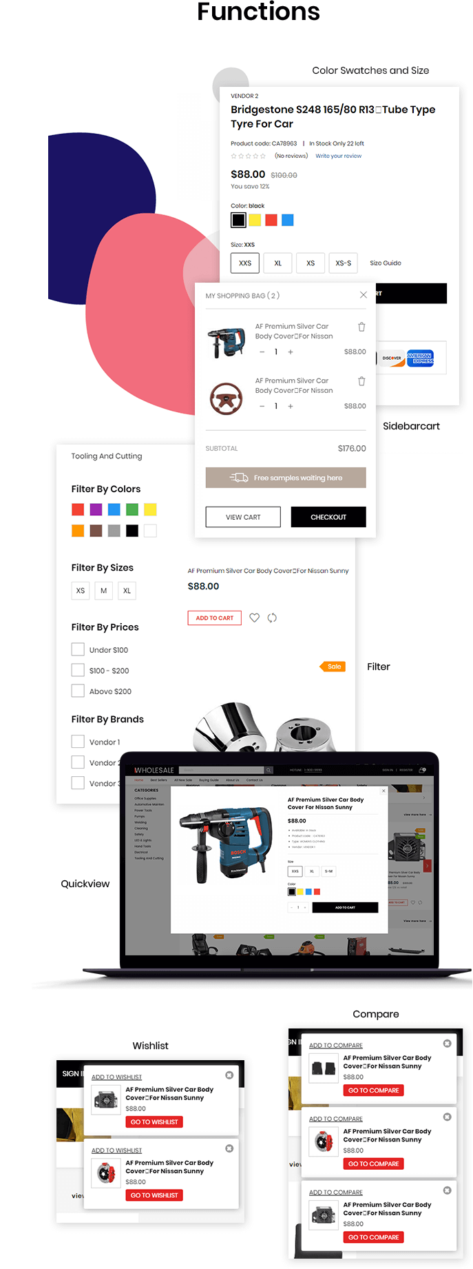 Shopify Wholesale functions