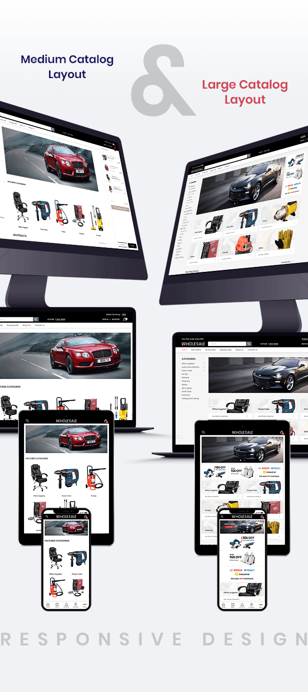 Shopify Wholesale Responsive